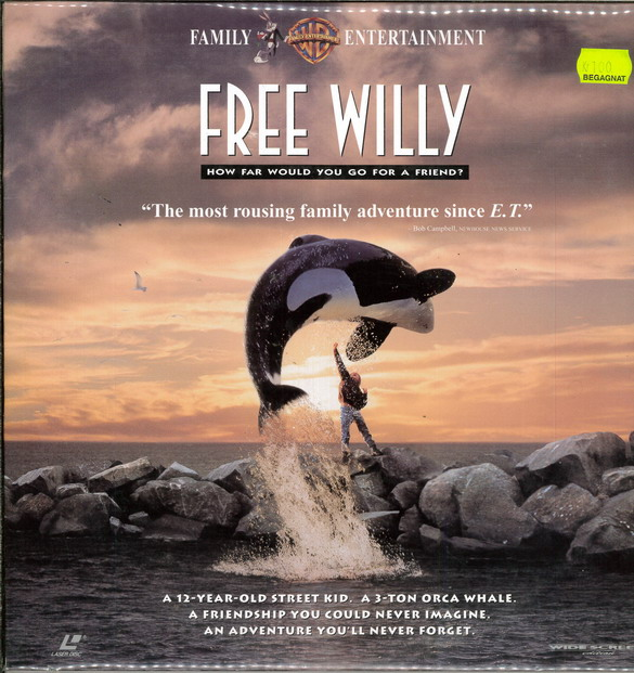 FREE WILLY (LASER-DISC)