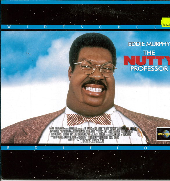 NUTTY PROFESSOR (LASER-DISC)