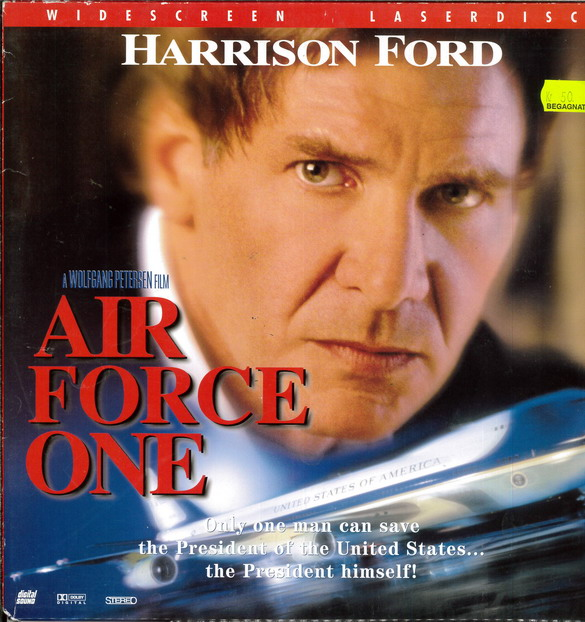 AIR FORCE ONE (LASER-DISC)