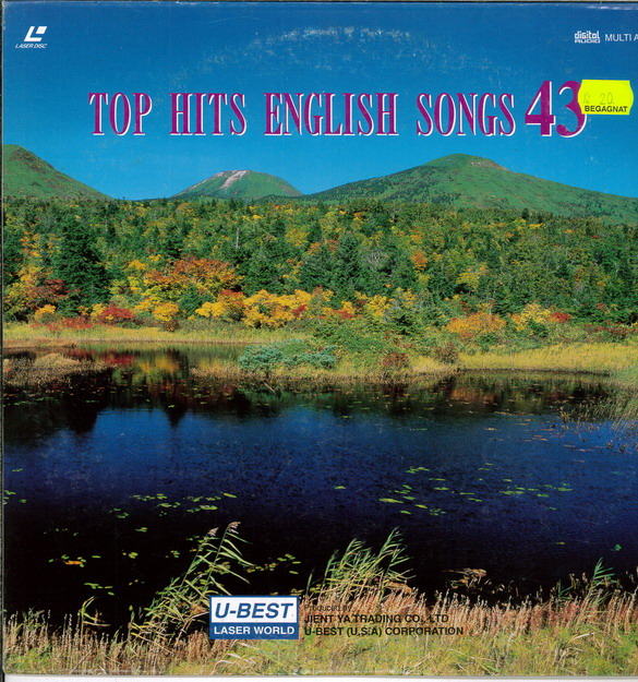 TOP HITS ENGLISH SONGS 43 (LASER-DISC)