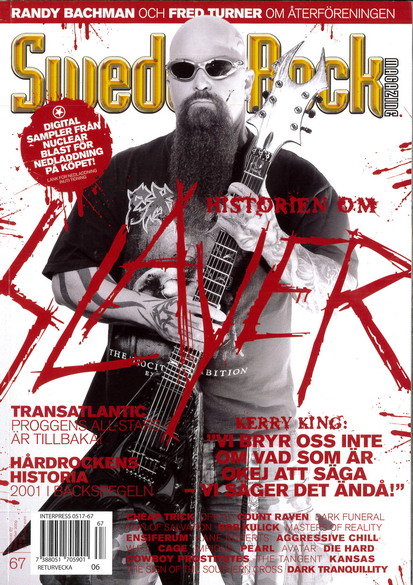SWEDEN ROCK MAGAZINE 67 - DECEMBER 2009