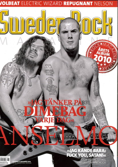 SWEDEN ROCK MAGAZINE 77 - DECEMBER 2010