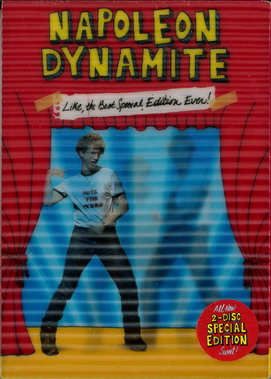 NAPOLEON DYNAMITE  (BEG DVD) USA STEELBOX