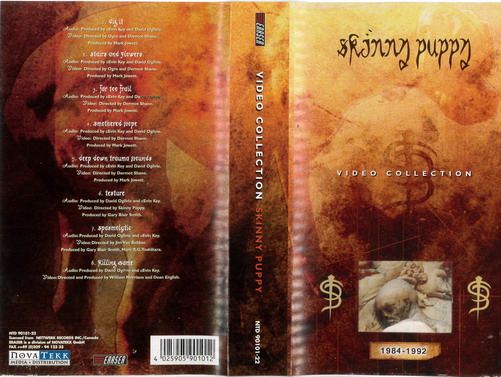 SKINNY PUPPY - VIDEO COLL  1984-92 (VHS)