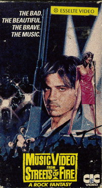 MUSIK VIDEO FROM STREETS OF FIRE (VHS)