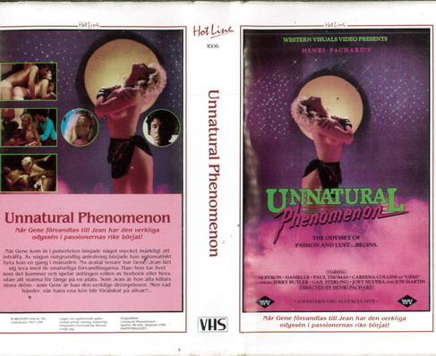 UNNATURAL PHENEMENON (VHS)