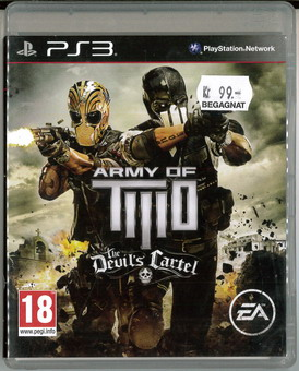 ARMY OF TWO: THE DEVIL'S CARTEL (BEG PS 3)