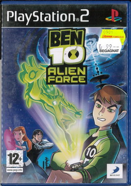 BEN TEN ALIEN FORCE (PS2) BEG