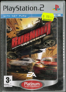 BURNOUT REVENGE (PS2) BEG