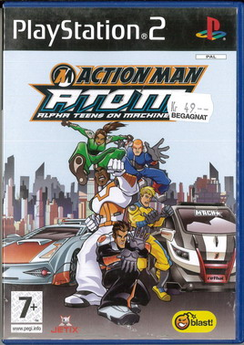 ACTION MAN A.T.O.M. ALPHA TEENS ON MACHINE (PS2) BEG