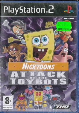 ATTACK OF THE TOYBOTS (PS2)