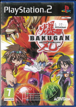 BAKUGAN: BATTLE BRAWLERS (PS2) BEG