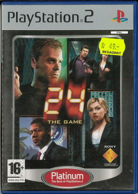 24 THE GAME (PS2) BEG