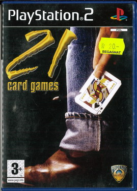 21 CARD GAMES (PS2) BEG
