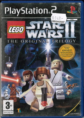 LEGO STAR WARS: THE ORIGINAL TRILOGY (PS2) BEG