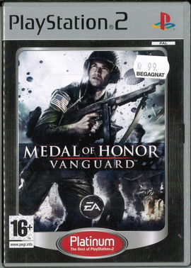MEDAL OF HONOR - VANGUARD (PS2) BEG