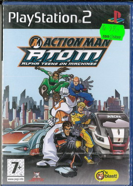 ACTION MAN A.T.O.M. ALPHA TEENS ON MACHINE (PS2)