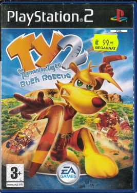 TY THE TASMANIAN TIGER 2: BUSH RESCUE (PS 2) BEG