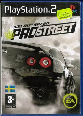 NEED FOR SPEED PROSTREET (PS2) BEG