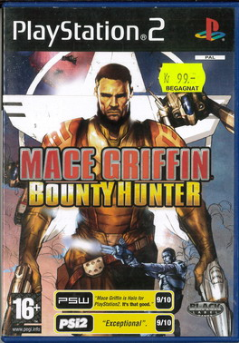 MACE GRIFFIN: BOUNTY HUNTER (PS2) BEG