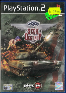 SEEK AND DESTROY (PS2) BEG