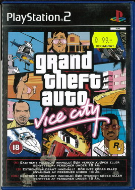 GRAND THEFT AUTO: VICE CITY (PS2) BEG