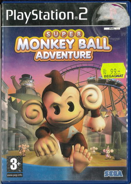 SUPER MONKEY BALL ADVENTURE (PS2) BEG