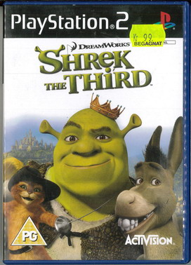 SHREK THE THIRD (PS2) BEG