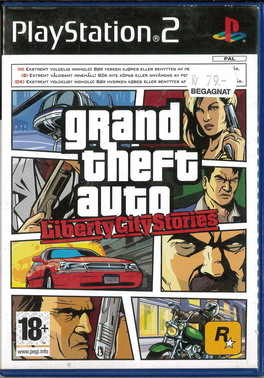 GRAND THEFT AUTO: LIBERTY CITY STORIES (PS2) BEG
