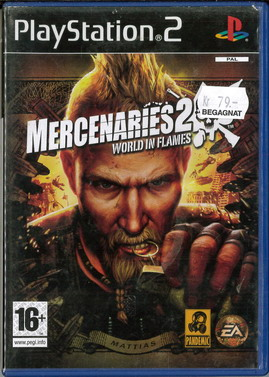 MERCENARIES 2: WORLD IN FLAMES (PS2) BEG