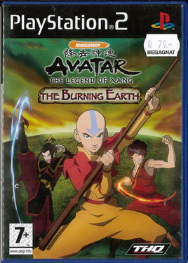 AVATAR: THE LEGEND OF AANG - THE BURNING EARTH (PS2) BEG