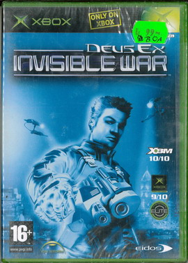 DEUS EX: INVISIBLE WAR (XBOX)