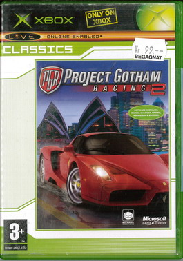 PROJECT GOTHAM RACING 2 (XBOX) BEG
