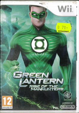 GREEN LANTERN: RISE OF THE MANHUNTERS (WII) BEG