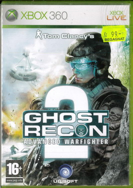 GHOST RECON ADVANCED WARFIGHTER 2 (XBOX 360) BEG