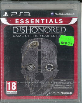 DISHONORED (PS 3)