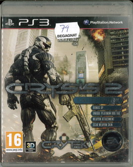 CRYSIS 2 (BEG PS 3)