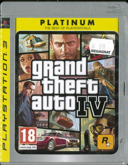GRAND THEFT AUTO IV (BEG PS 3)