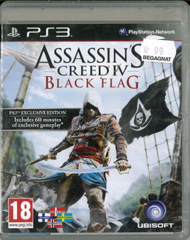 ASSASSIN'S CREED IV: BLACK FLAG (BEG PS 3)