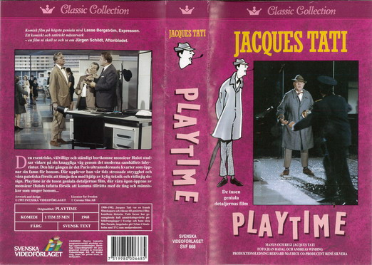 SVF 668 PALYTIME (VHS)