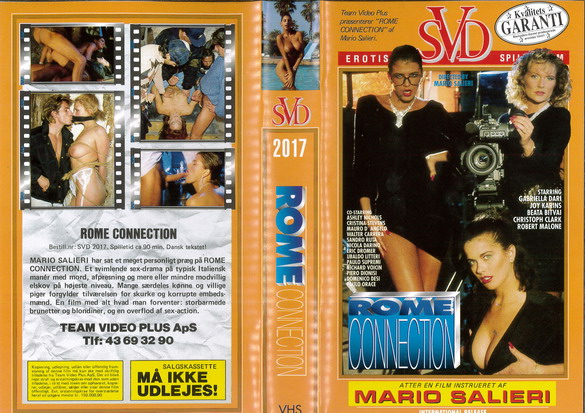 ROME CONNECTION (VHS) NY - DK