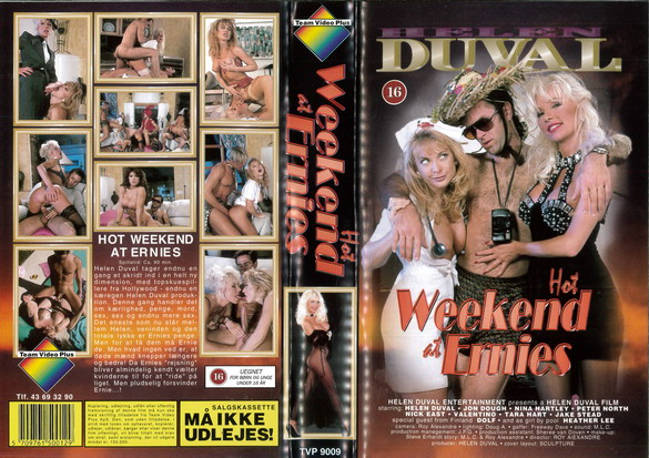 HOT WEEKEND AT ERNIES (VHS) NY - DK