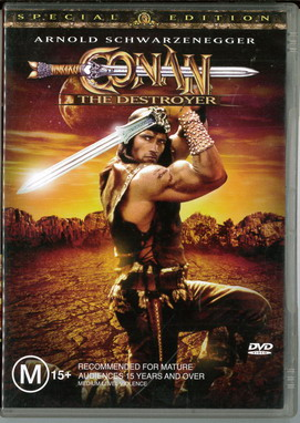 CONAN THE DESTROYER (BEG DVD) AUS