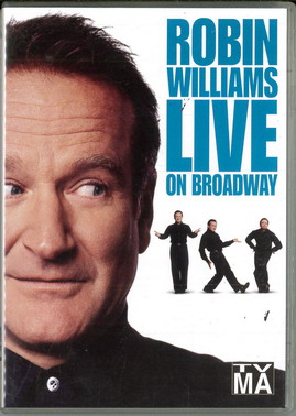 ROBIN WILLIAMS LIVE ON BROADWAY (BEG DVD) IMPORT