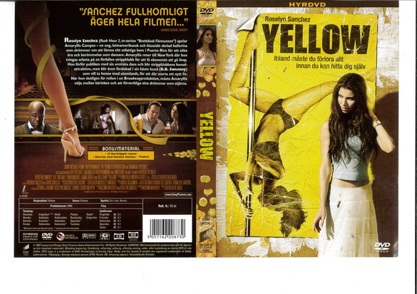 YELLOW (DVD OMSLAG)