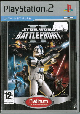 STAR WARS BATTLEFRONT 2 (PS2) BEG