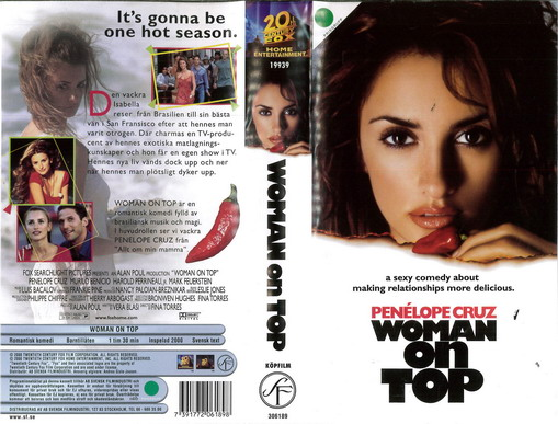 WOMAN ON TOP (VHS)