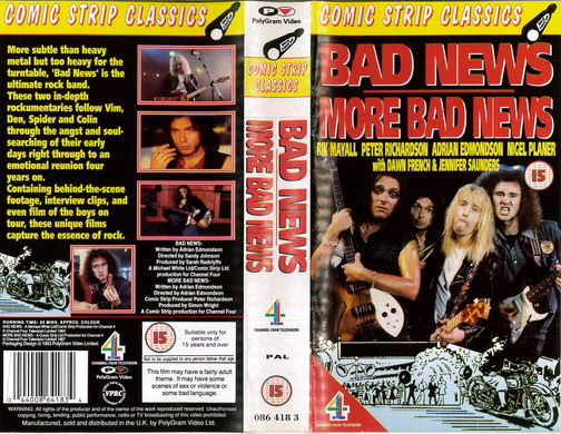 BAD NEWS MORE BAD NEWS (VHS) UK