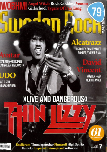 SWEDEN ROCK MAGAZINE 2020: 7