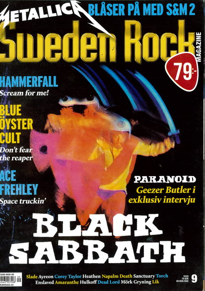 SWEDEN ROCK MAGAZINE 2020: 9